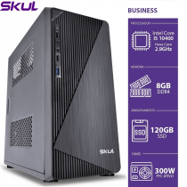 COMPUTADOR BUSINESS B500 - I5 10400 2.9GHZ 10ª GER MEM 8GB DDR4 SSD 120GB HDMI/VGA FONTE 300W - 1