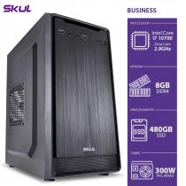 COMPUTADOR BUSINESS B700 - I7 10700 2.9GHZ MEM 8GB DDR4 SSD 480GB HDMI/VGA FONTE 300W PFC ATIVO - 1