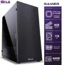 COMPUTADOR GAMER 3000 - I3 10100F 3.6GHZ 10ª GER. SEM VÍDEO INTEGRADO MEM. 8GB DDR4 HD 1TB FONTE 600W - 1