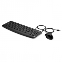 KIT TECLADO E MOUSE USB PAVILON MULTIMIDIA 200 PRETO - 1