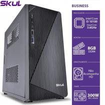 COMPUTADOR BUSINESS B300 - I3 10100 3.6GHZ 10ªGER MEM 8GB DDR4 SEM HD/SSD HDMI/VGA FONTE 300W - 1