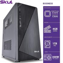 COMPUTADOR BUSINESS B500 - I5 4570 3.2GHZ 4ªGER MEM 4GB DDR3 HD 1TB HDMI/VGA FONTE 300W - 1