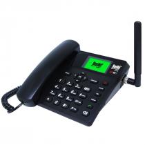 TELEFONE CELULAR RURAL FIXO DE MESA 4G E WIFI 7 BANDAS BDF-14 - 1
