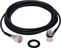 KIT CABO RG-58 5,5 METROS CONECTOR UHF MINI MOTOROLA M-805K
