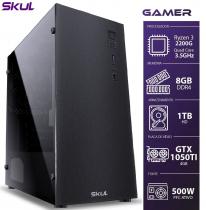 COMPUTADOR GAMER 3000 - RYZEN 3 2200G 3.5GHZ MEM. 8GB DDR4 HD 1TB GTX 1050TI 4GB FONTE 500W - 1