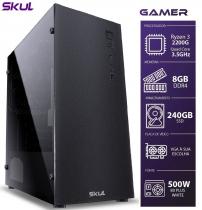 COMPUTADOR GAMER 3000 - RYZEN 3 2200G 3.5GHZ MEM. 8GB DDR4 SSD 240GB FONTE 600W - 1
