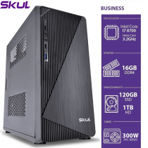 COMPUTADOR BUSINESS B700 - I7 8700 3.2GHZ 16GB DDR4 SSD 120GB HD 1TB HDMI/VGA FONTE 300W - 1