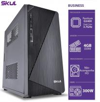 COMPUTADOR HOME H200 - PENTIUM DUAL CORE G5400 3.7GHZ MEM 4GB DDR4 SEM HD/SSD HDMI/VGA FONTE 300W - 1