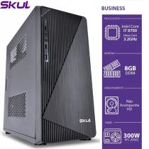 COMPUTADOR BUSINESS B700 - I7 8700 3.2GHZ 8ªGER MEM 8GB DDR4 SEM HD HDMI/VGA FONTE 300W - 1