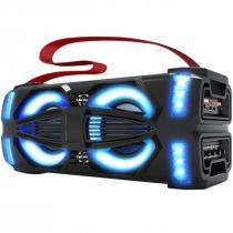 CAIXA DE SOM ATIVA PORTÁTIL 300W LIGHT-X BLUETOOTH/USB/MICRO SD - 1