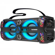 CAIXA DE SOM ATIVA 300W NEON 25 BLUETOOTH/SD/USB COM MICROFONE - 1