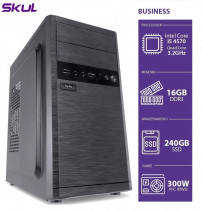 COMPUTADOR BUSINESS B500 - I5 4570 3.2GHZ 16GB DDR3 SSD 240GB HDMI/VGA FONTE 300W PFC ATIVO - 1