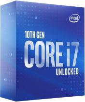 PROCESSADOR INTEL CORE I7-10700K 3.8GHZ (TURBO 5,10GHZ)CACHE 16MB 8 NUCLEOS 16 THREADS 10ª GER LGA 1200 BX8070110700K - 1