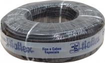 CABO DE GUITARRA NOISELESS AFT 0,30MM2 (22 AWG) 100 METROS TRANÇADO + SEMI-CONDUTOR PRETO - 1