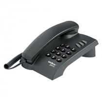 TELEFONE PLENO PRETO - FUNÇÕES FLASH, REDIAL MUTE