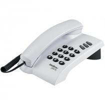 TELEFONE PLENO CINZA ÁRTICO - SINALIZAÇÃO DE LINHA: PULSO E TOM - FUNÇÕES FLASH REDIAL MUTE
