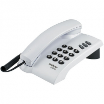 TELEFONE PLENO CINZA ÁRTICO - SINALIZAÇÃO DE LINHA: PULSO E TOM - FUNÇÕES FLASH REDIAL MUTE - 1