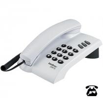 TELEFONE PLENO COM CHAVE CINZA ÁRTICO - OPÇÃO DE CHAVE DE BLOQUEIO - FUNÇÕES FLASH REDIAL MUTE