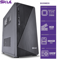 COMPUTADOR BUSINESS B700 - I7 4770 3.4GHZ 4ªGER MEM 8GB DDR3 SSD 480GB HDMI/VGA FONTE 300W - 1
