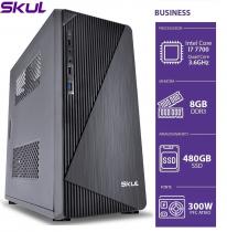 COMPUTADOR BUSINESS B700 - I7 7700 3.6GHZ 8GB DDR3 SSD 480GB HDMI/VGA FONTE 300W - 1