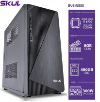 COMPUTADOR BUSINESS B700 - I7 8700 3.2GHZ 8ªGER MEM 8GB DDR4 SSD 480GB HDMI/VGA FONTE 300W - 1