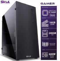 COMPUTADOR GAMER 5000 - I5 10400F 2.9GHZ 10ª GER. SEM VÍDEO INTEGRADO MEM. 16GB DDR4 SSD 240GB FONTE 600W - 1