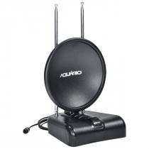 ANTENA TV INTERNA DIGITAL VHF/UHF/HDTV/FM TV-500 CABO 1,5 METROS - 1